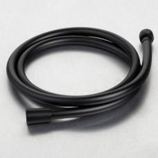 Shower Hose 1.6 PVC Matt Black