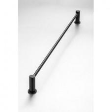 Demola Single Towel Rail Black - 760mm