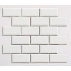 Bevelled White Glossy (45 x 95mm)