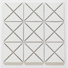 Triangles White Matt