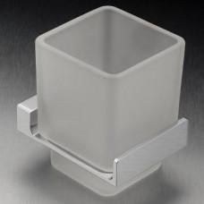Messina Glass Tumbler Holder Chrome