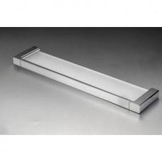 Messina Glass Shelf Chrome