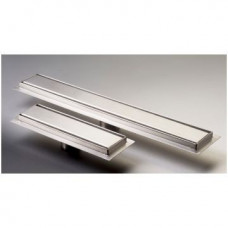 Solid Plate Shower Channel Stainless Steel 250mm