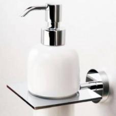 Como Brass Head Soap Dispenser Chrome
