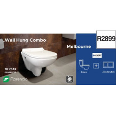 Melbourne Wall Hung Toilet Combo