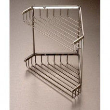 Double Shower Caddy Stainless Steel