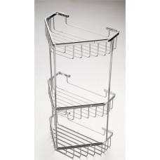 Shower Caddy - Corner 3 Tier Stainless Steel