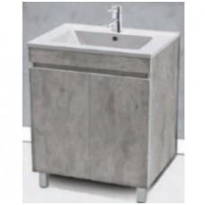 500 Perla Floorstanding Vanity Grey